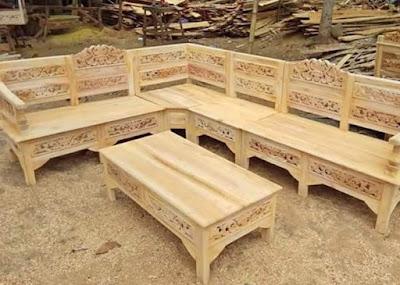 Tumbuhan Bermanfaat Membuat Perabotan