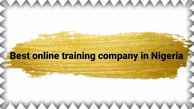 Best online training company in Nigeria