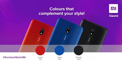 تعرف على ألوان هاتف شاومي ردمي Redmi 8A