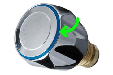 Декоративная заглушка вентиля смесителя