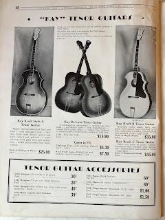 Kay tenor guitars