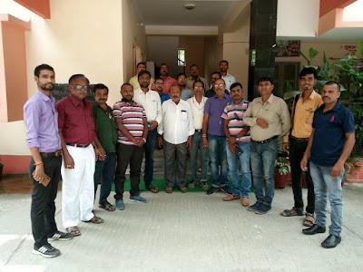 AIRA जमुई जिला इकाई सह प्रखंड इकाई की बैठक आयोजित।