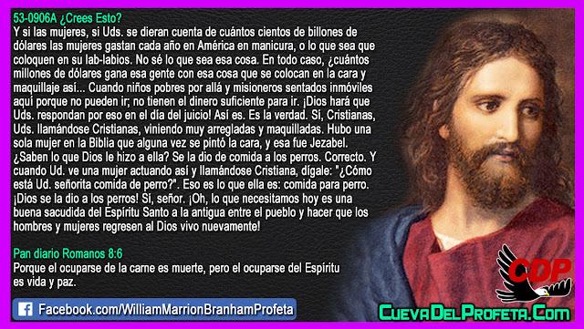El maquillaje de Jezabel - William Branham en Español