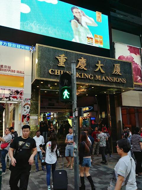 Chungking Mansions, Tsim Sha Tsui, Hong Kong