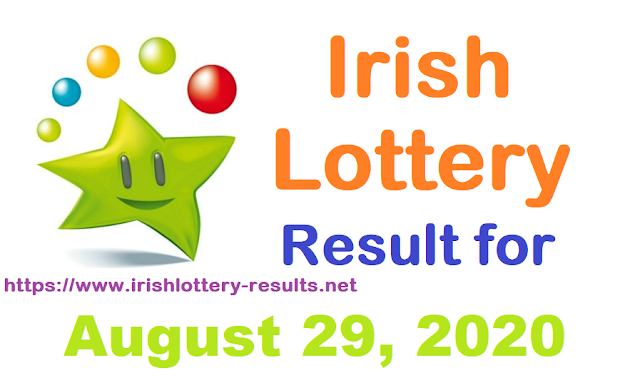 Irish Lottery Result for Saturday, August 29, 2020