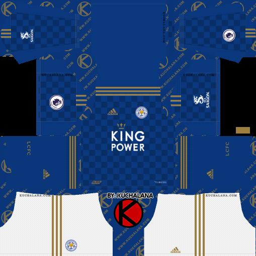 Leicester City 2019/2020 Kit - Dream League Soccer Kits