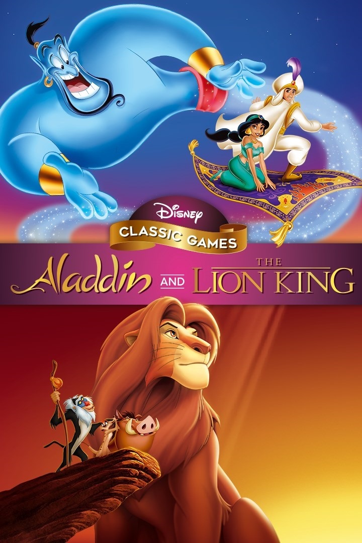 Disney Classic Games: Aladdin and The Lion King (PC) Torrent