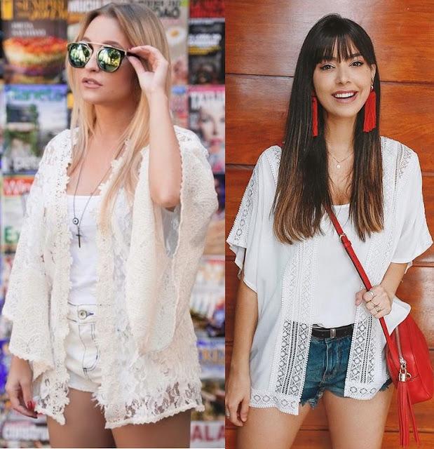 10 looks inspiração como usar kimono, Carla Diaz, Gabriela Sales rica de marré