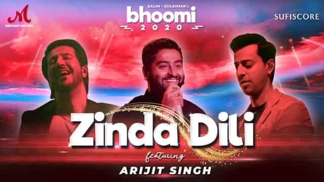 ज़िंदा दिली Zinda Dili Lyrics In Hindi - Bhoomi