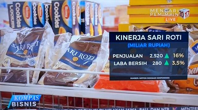 Ernest Sindir Alumni 212 Karena Penjualan Sari Roti Meroket