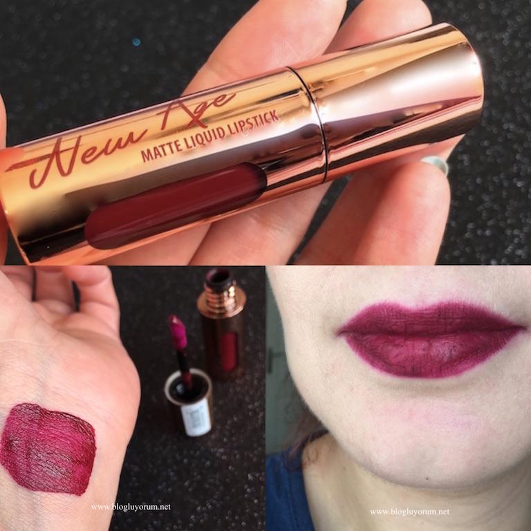 Flormar New Age Matte Liquid Lipstick 06 Seductive Cherry Ruj