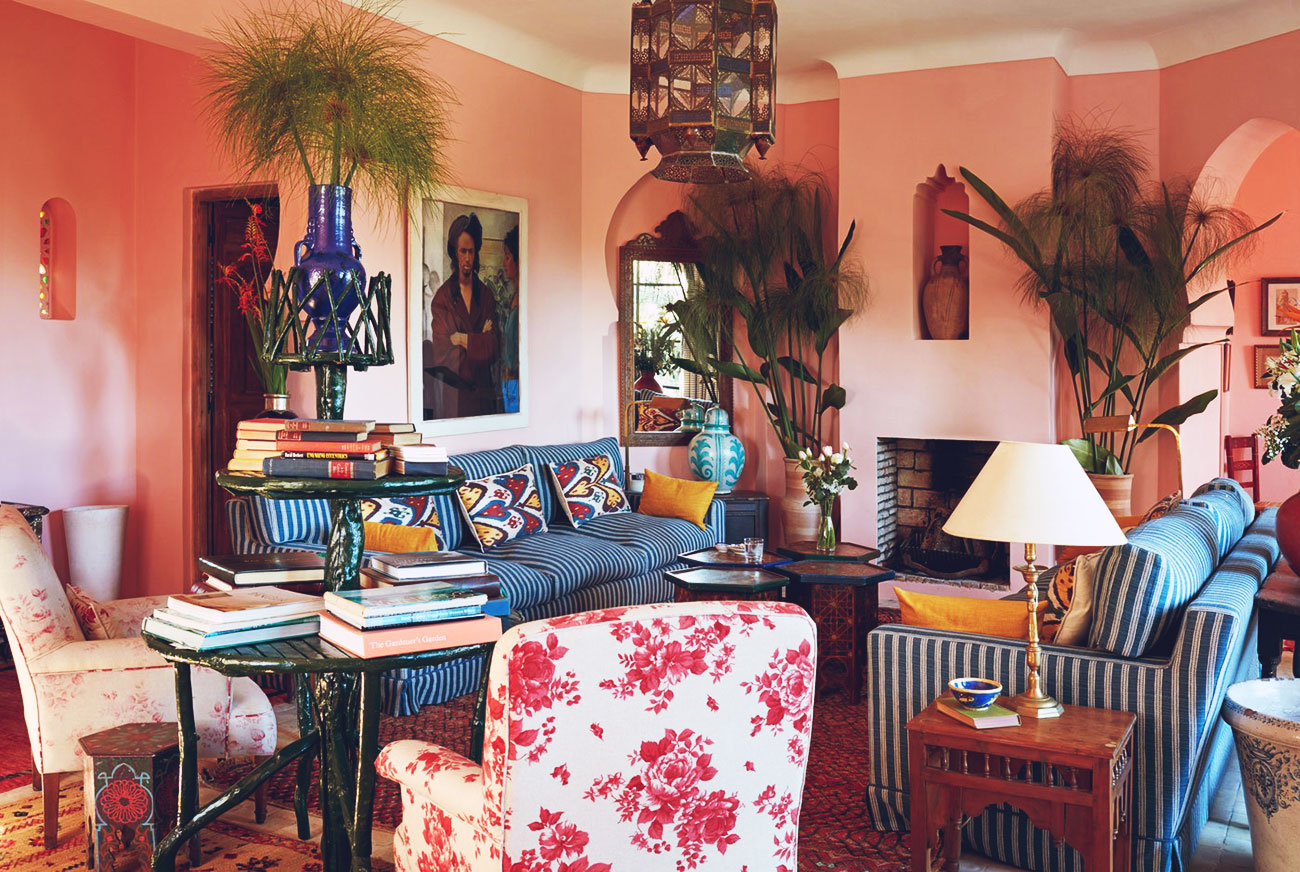 Décor Inspiration | At Home With: English Model Jacquetta Wheeler, Tangier