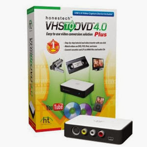 Honestech VHS To DVD Converter 4.0.25 - Full Version Free Download | By James