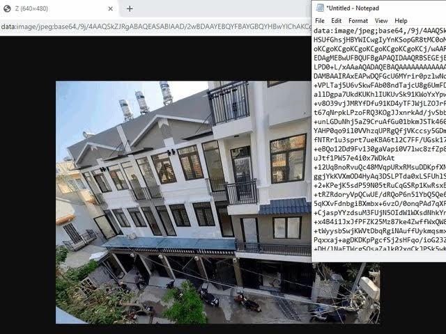 nén hình ảnh web bằng base64 không tốn dung lượng upload