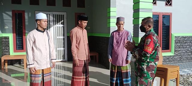 Operasi Yustisi Diwilayah Binaan Dilakukan Personel Jajaran Kodim 0207/Simalungun Diwilayah Binaan