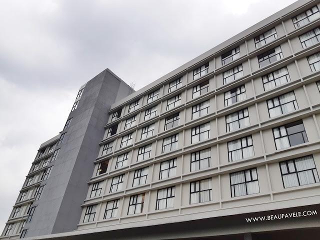 Bangunan Hotel Swiss Belresort Dago Heritage