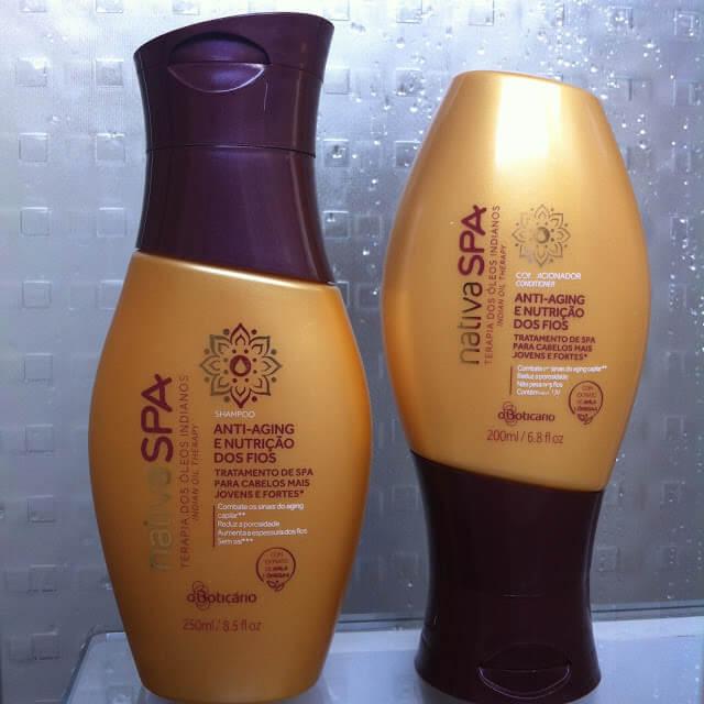 Shampoo e Condicionador Terapia dos Óleos Indianos