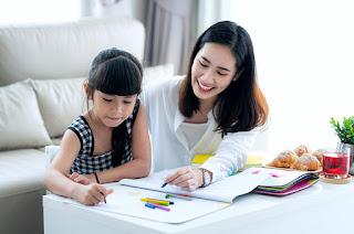 Mengajar Anak SD