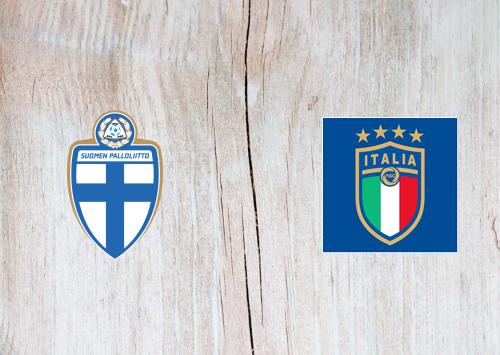 Finland vs Italy Full Match & Highlights 8 September 2019