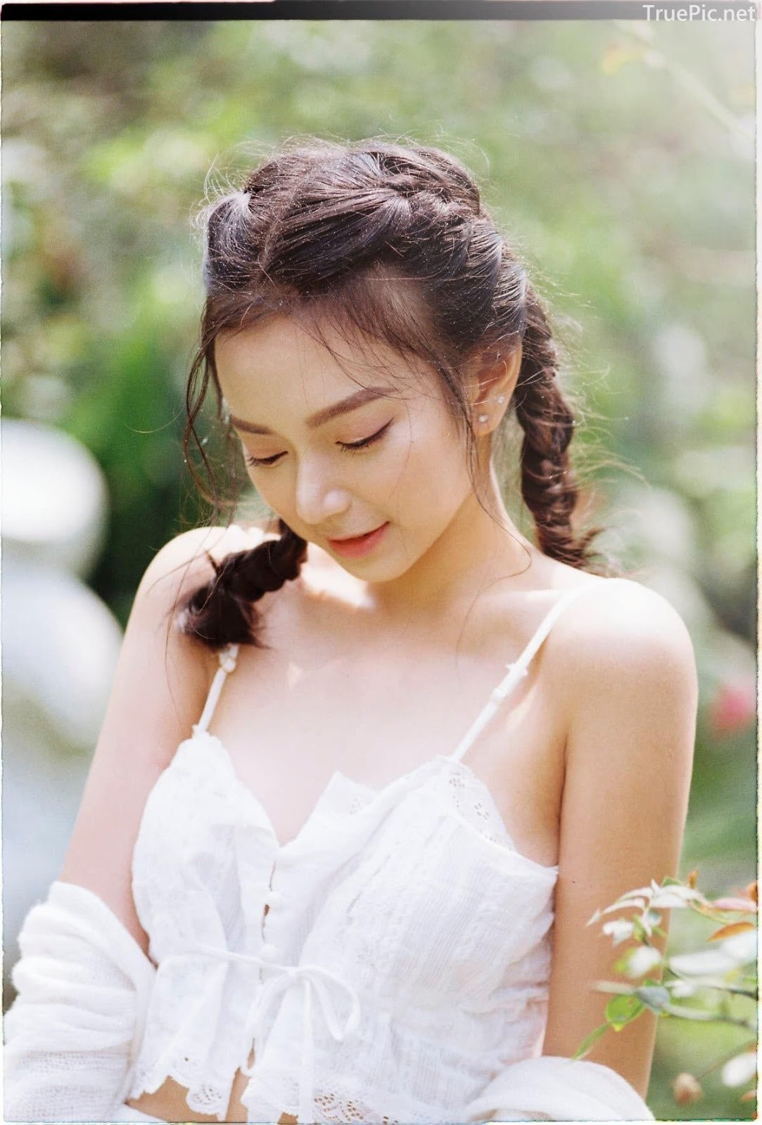 Vietnamese Sexy Model - Vu Ngoc Kim Chi - Beautiful in white - TruePic.net- Picture 29