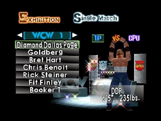Corona Jumper: WCW/NWO Revenge (Nintendo 64, 1998)