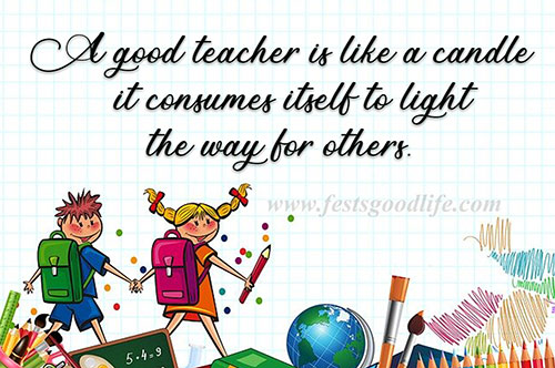 55+ Happy Teachers Day Quotes and SMS wishes for favorite teacher