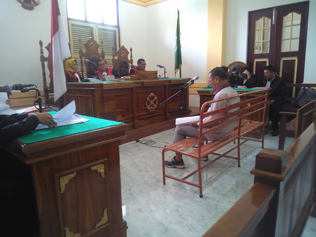 Didakwa Korupsi Rp1,3 Miliar, Mantan General Manager Pelindo I (Persero) Cabang Dumai Diadili