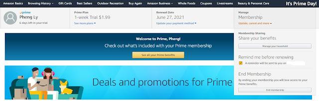 Cancel Amazon Free Trial & Amazon Prime
