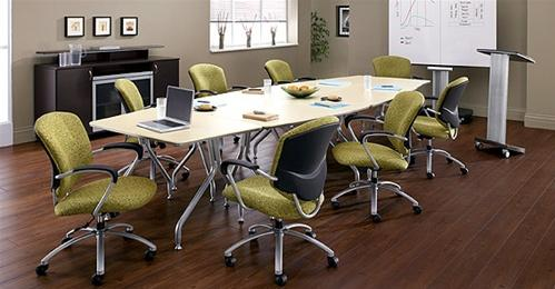 the office furniture blog at training table configuration ideas for your space. Black Bedroom Furniture Sets. Home Design Ideas