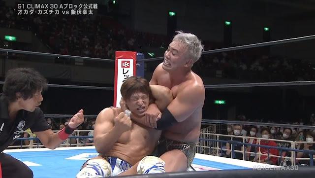 Kazuchika Okada vs. Kota Ibushi at G1 Climax 30