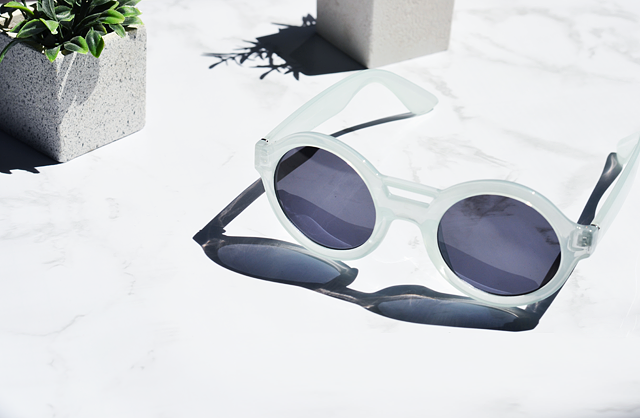 milk sunglasses, & other stories, mirror glasses, white sunglasses, zalando, mint, round sunglasses, mint & berry, summer 2015, new in, sale shopping