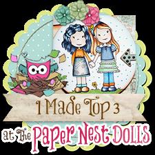 Top 3 Winner Paper Nest Dolls