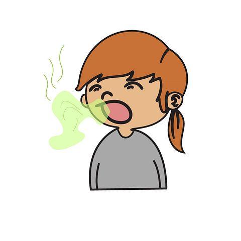 nafas bau