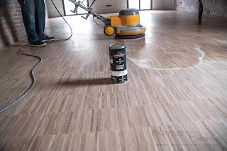 suelo de madera aceitado Rubio Monocoat