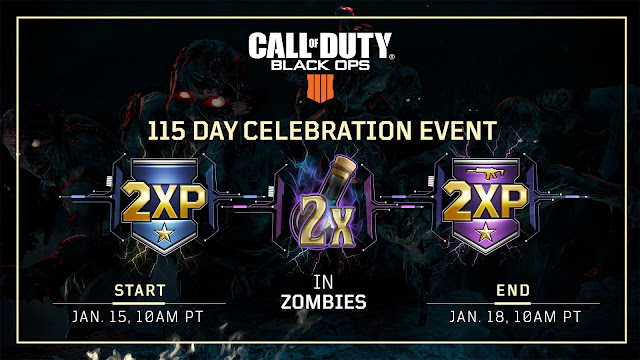 Black Ops 4 1.11 Update and 115 Day