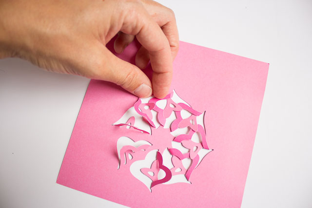 valentines photo box ideas - Martha Stewart Paper Punch Art