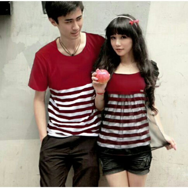 Jual Dress Couple Exotic Red - 24233