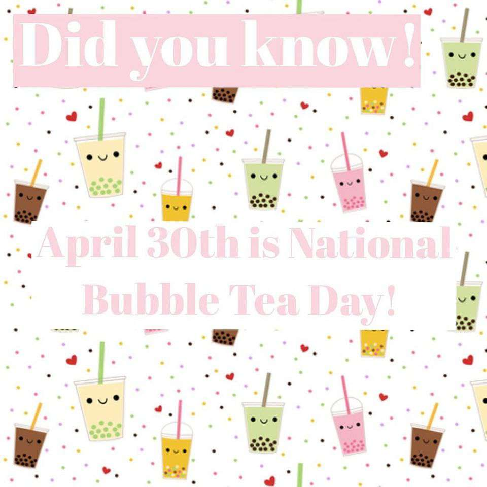 National Bubble Tea Day Wishes For Facebook