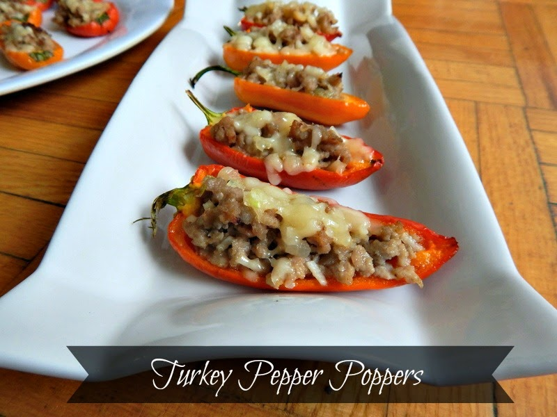 Turkey Pepper Poppers