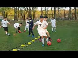 تمرين التنسيق في كرة القدم