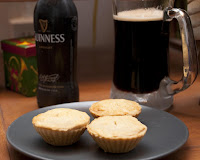 mince pies and guiness