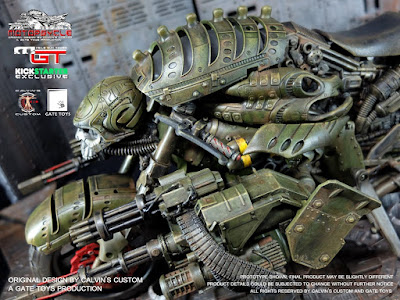 osw.zone Check out Calvin Custom X Gate Toy 1/6 Scale MOTOPSYCLE: MGT (Mobile Gun Tower), BORGHEAD & GUNRUNNER on Kickstarter