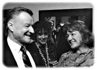 Aleksandra Ziółkowska-Boehm i Zbigniew Brzeziński