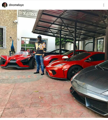 """""""Report me to EFCC! """" Dino Melaye replies follower who accused him of being corrupt after he showed off his expensive toys on IG"""