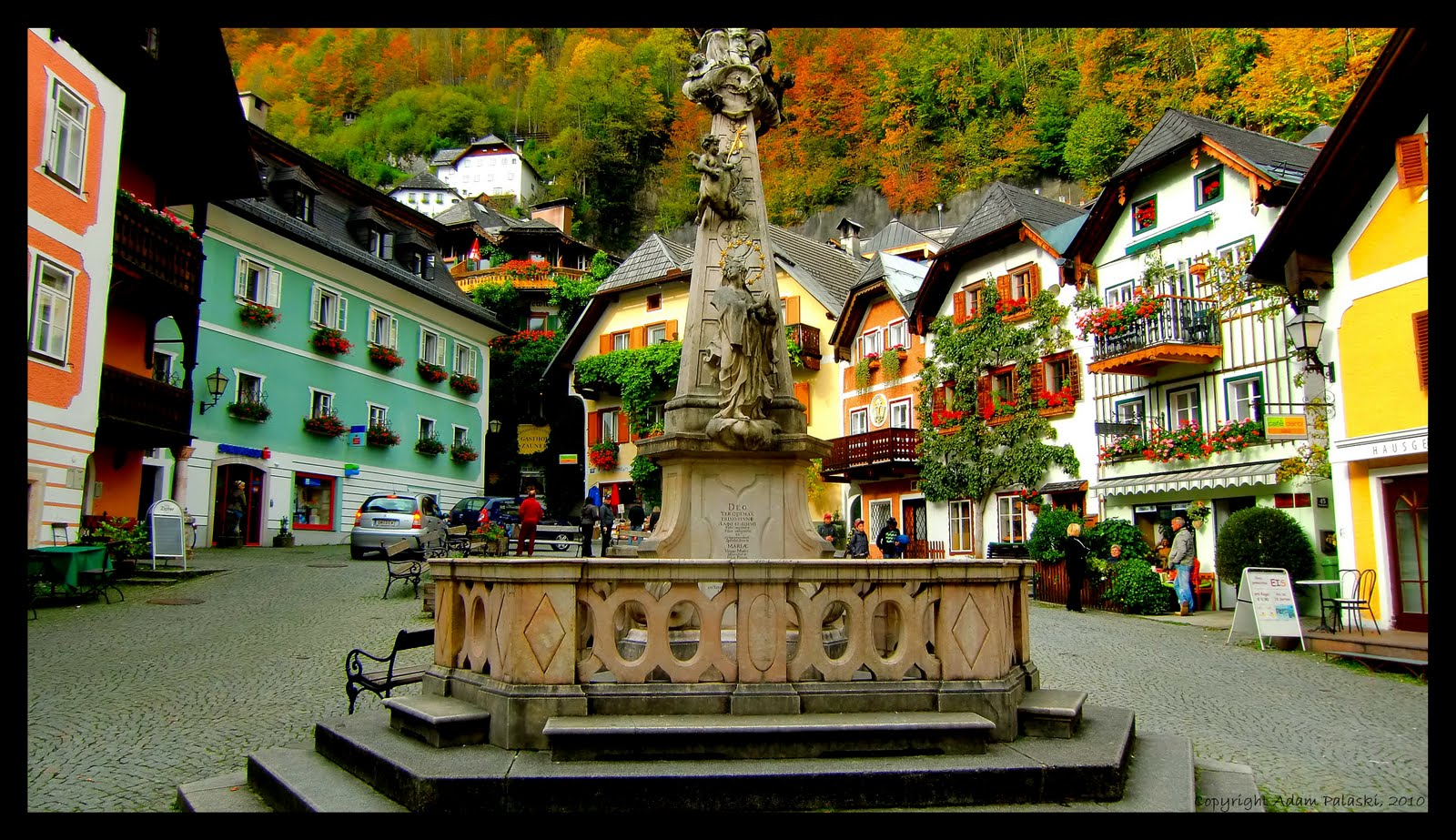 Fall in Hallstatt, Austria