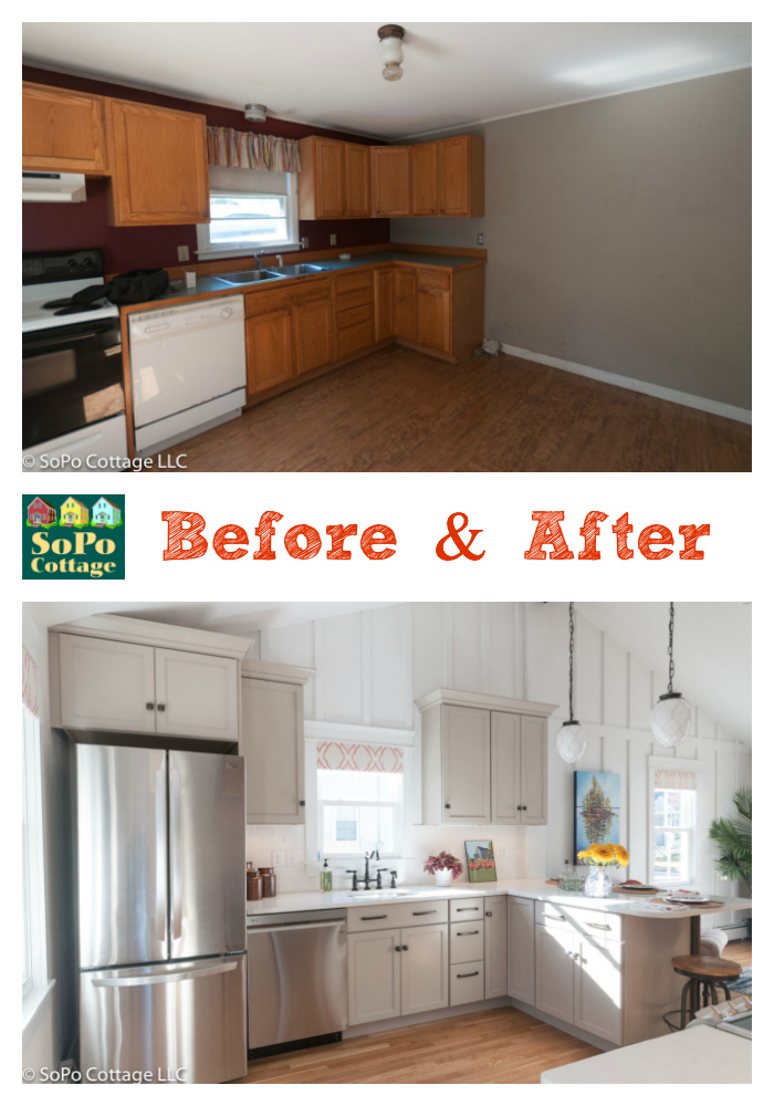 Sopo Cottage Is It Possible To Transform A Boring Ranch Into A Cozy Cottage Before And After