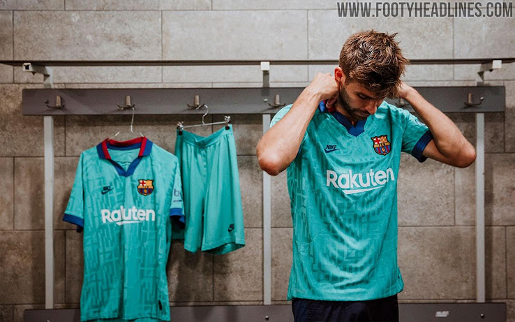 sports shoes 7381e e94c7 Barcelona 19-20 Third Kit Released - Footy Headlines