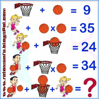 Retos matemáticos, Desafíos matemáticos, Retos mentales, Retos visuales, Problemas matemáticos, Problemas de lógica, Matemática y Deportes, Acertijo, Descubre el número, Descubre el resultado