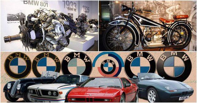 Một trong mười thương hiệu xe hơi hàng đầu thế giới, BMW, vốn là một công ty sản xuất máy bay. Thế chiến I đã buộc BMW phải làm ô tô.