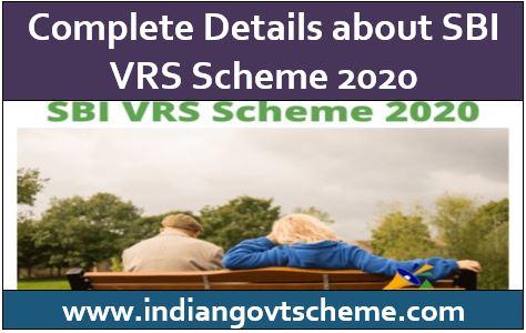 SBI VRS Scheme
